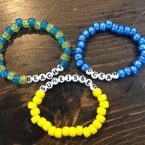 Jewelry - Beaded bracelets set